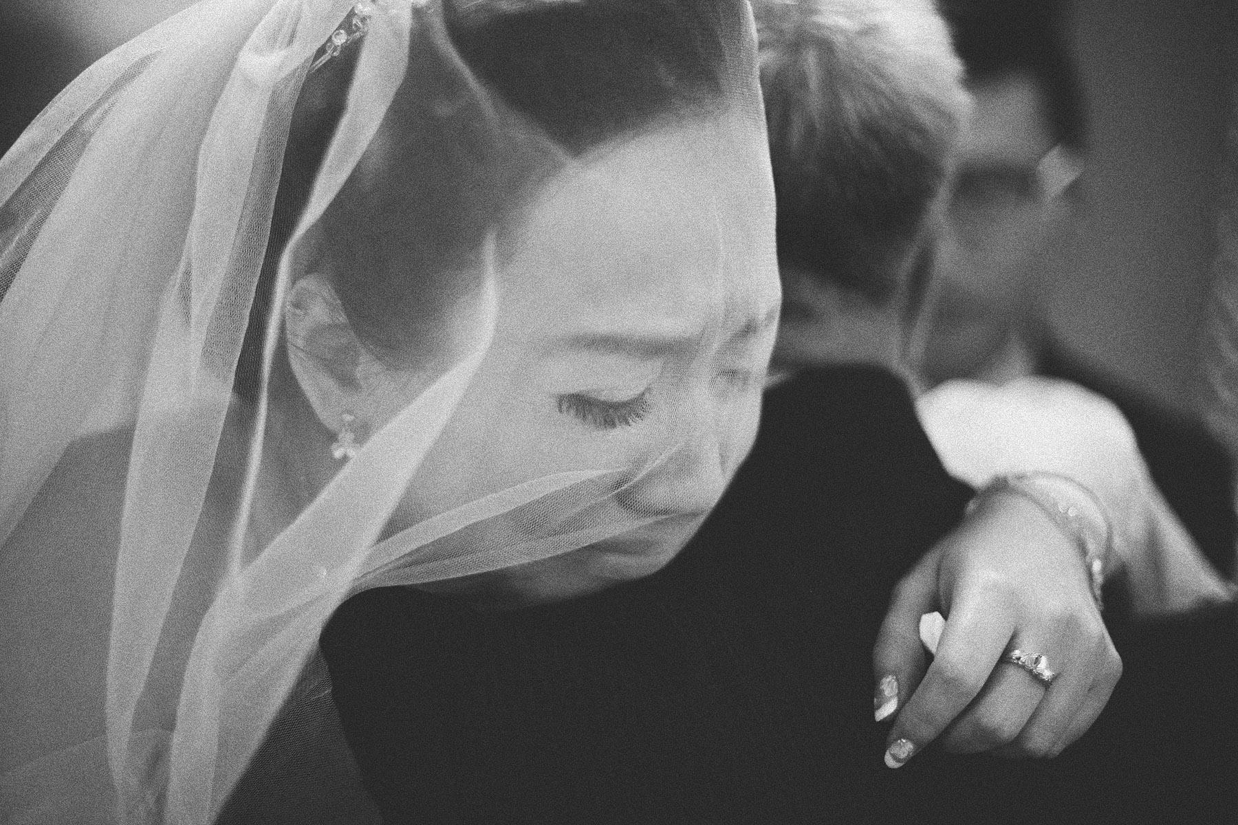 婚禮攝影-拜別哭泣