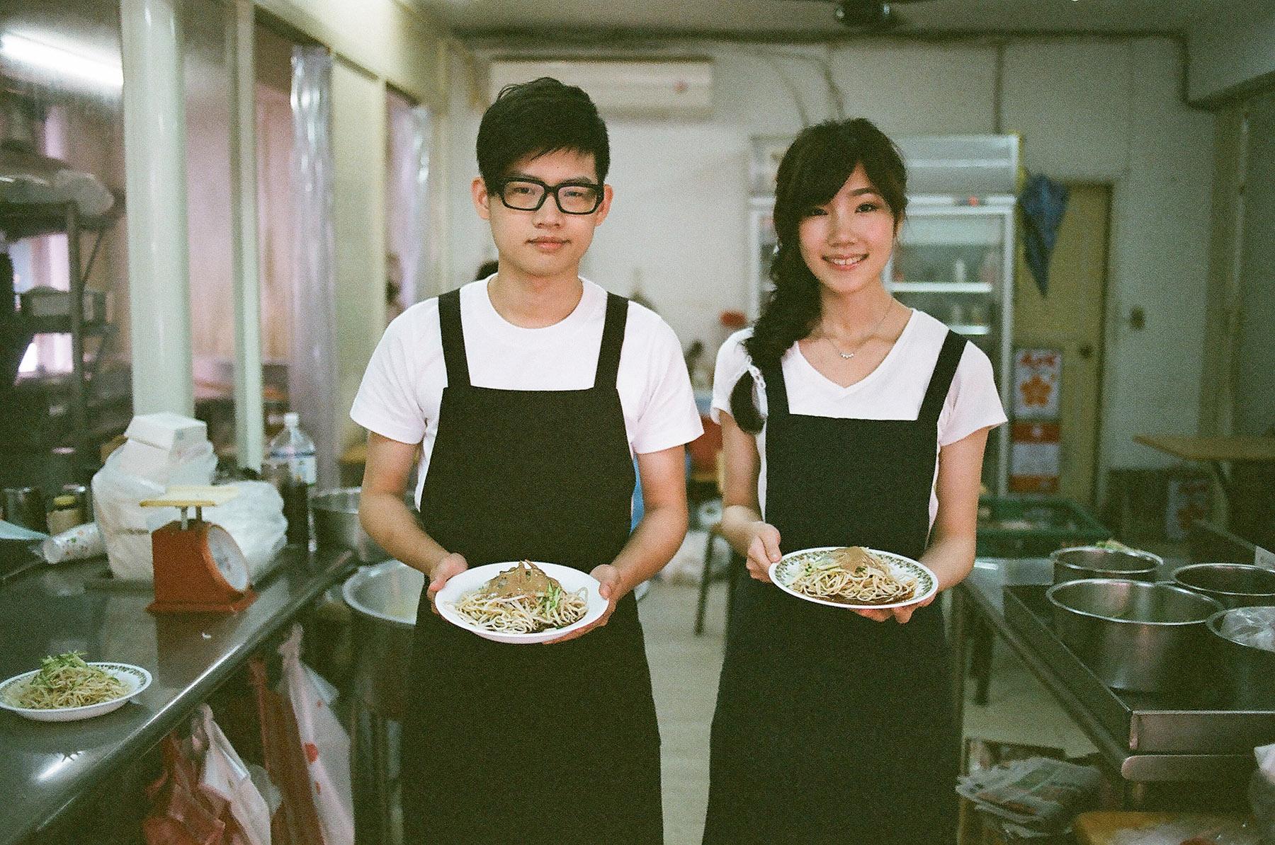 自助婚紗,自然風格,生活風格,居家風格,底片風格,電影風格,台北,婚紗攝影師推薦,任家涼麵,民生社區