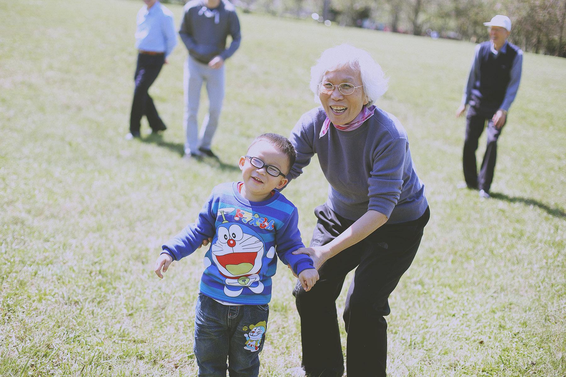 家庭寫真,親子寫真,台北大學,奶奶