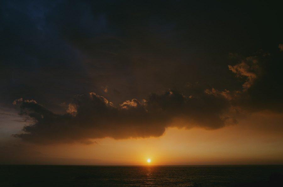 生活攝影,日常攝影,日系風格,GR,墾丁,夕陽,日落