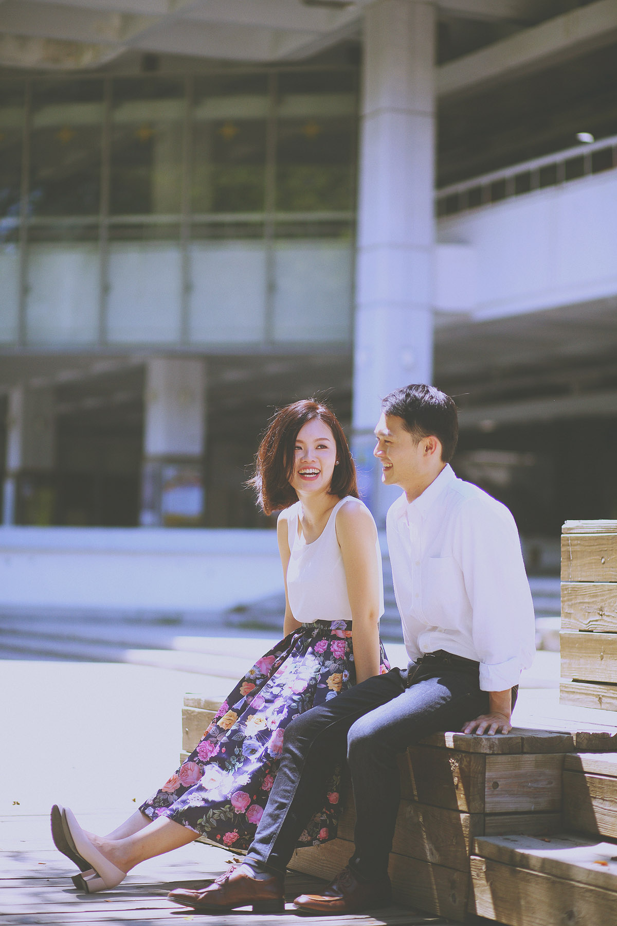 底片婚攝,學校,成功大學,自助婚紗,自然風格,生活風格