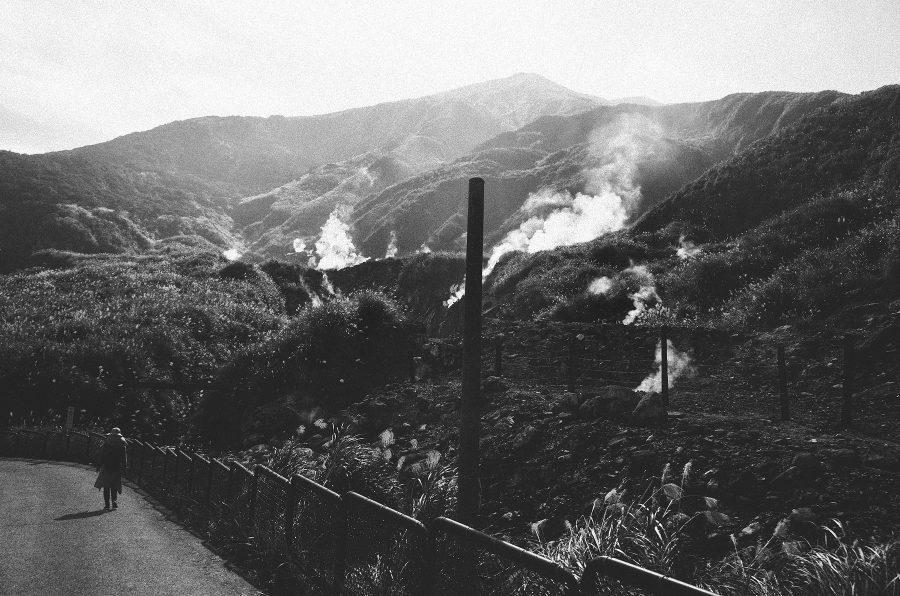 gr,黑白,心象攝影,溫泉,金山