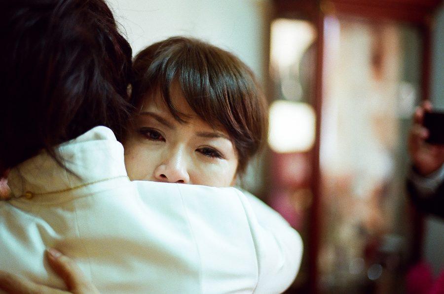 婚禮紀錄,婚禮攝影,眼淚,哭泣,不捨,家人,底片
