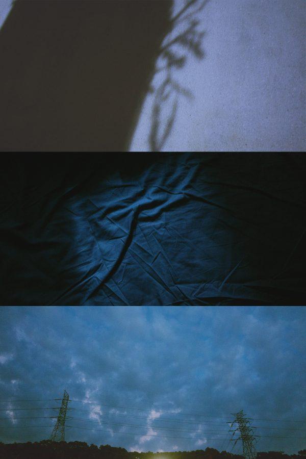 心象攝影,藍,天空,孤獨,影