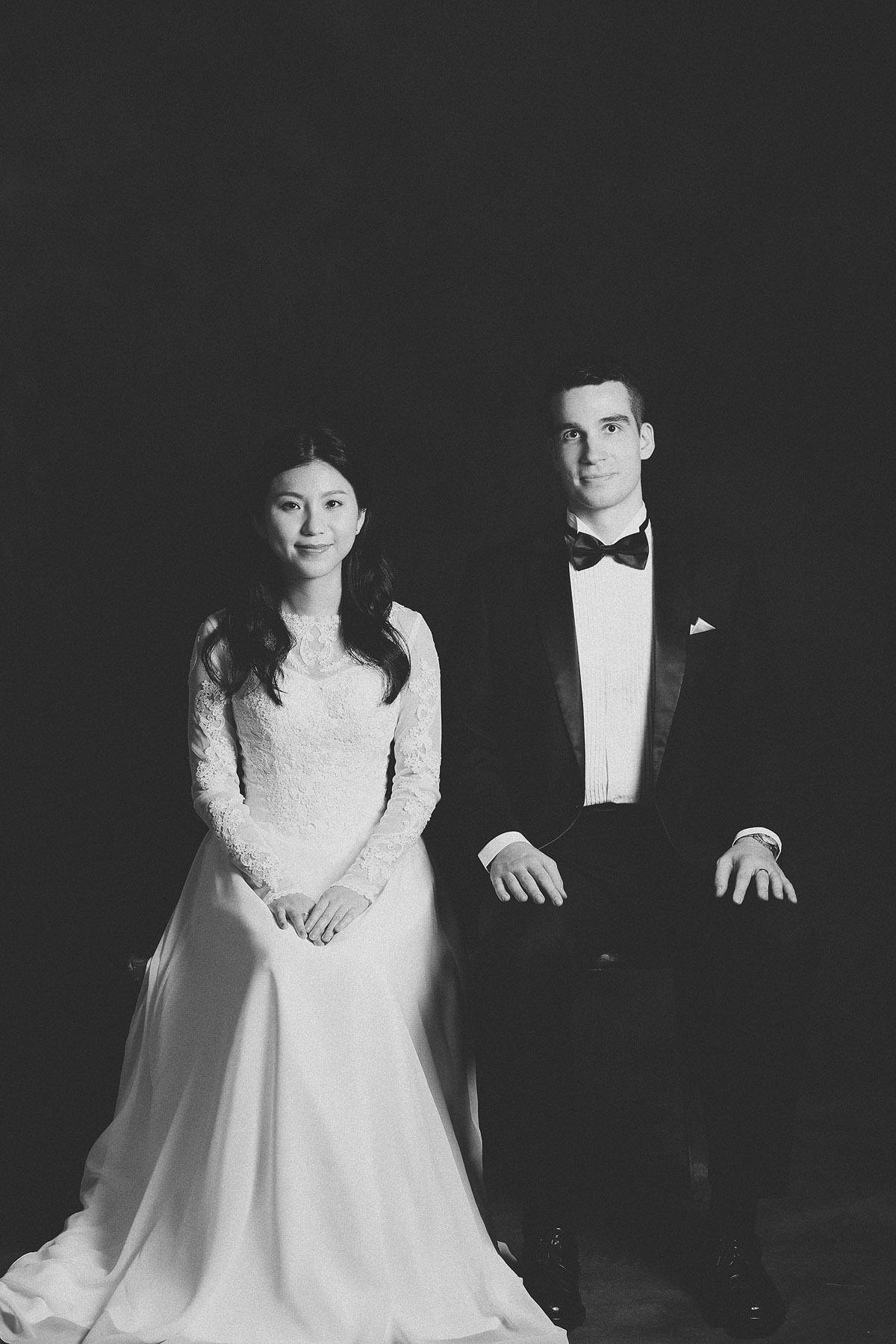 婚紗攝影,黑白,傳統婚紗,復古婚紗
